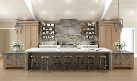 galley kitchen designs with island 64 deluxe custom kitchen island designs beautiful