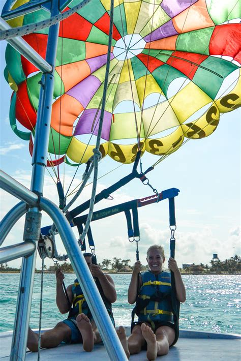 um where is belize a journey into the unknown books parasailing in belize and a fear of heights