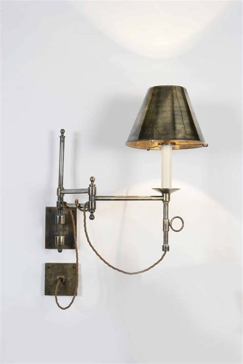 swing arm lights library swing arm wall light