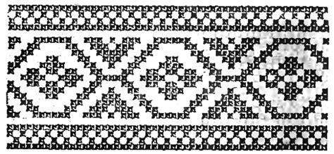 imagenes grecas mayas la bolsa de papel grecas en punto de cruz