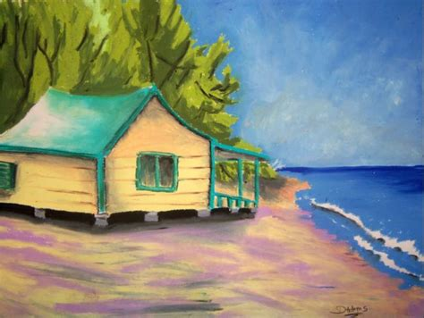beach house paintings beach house debbie adams foundmyself
