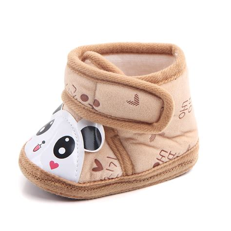 panda shoes newborn baby infant warm anti slip panda shoes soft