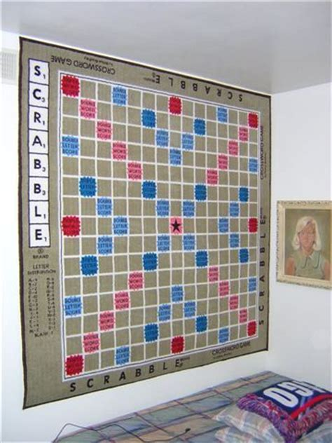 wall scrabble board like scrabble here s a rug made just for you