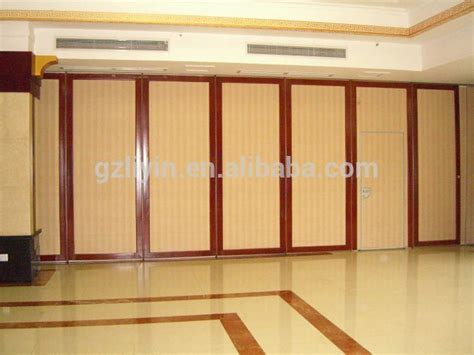 soundproof material sliding wood room divider buy room