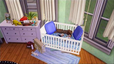 baby crib hanging thing liko s hanging crib converted at dri4na via sims 4 updates