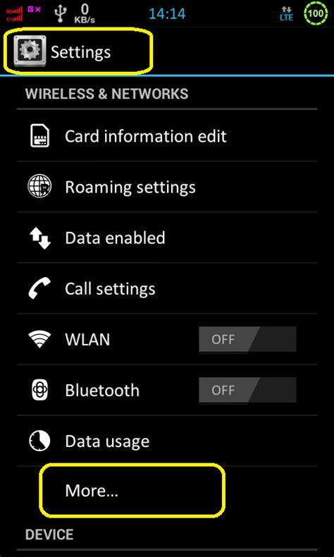 Hotspot Wifi Andromax cara menggunakan andromax c sebagai modem wifi hotspot