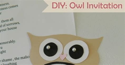 diy owl invitation template my owl barn diy owl invitation