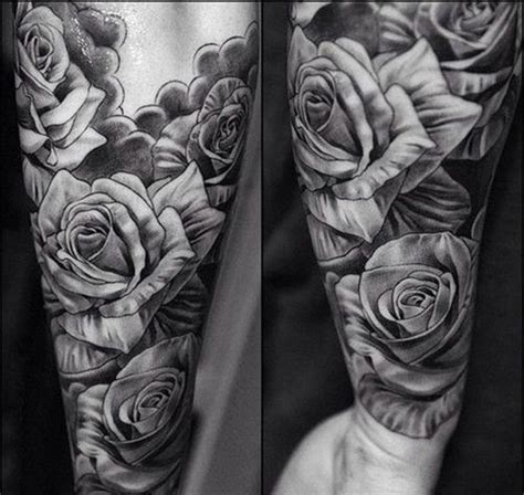 black and white rose tattoo for men the 25 best ideas about mens tattoos on