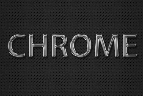 photoshop words chrome tutorial how to create a quick and easy chrome text effect in