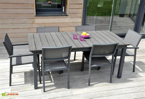 table jardin table jardin watson alu composite 180 250x100 watson table rectangulaire 180 250 100 residence