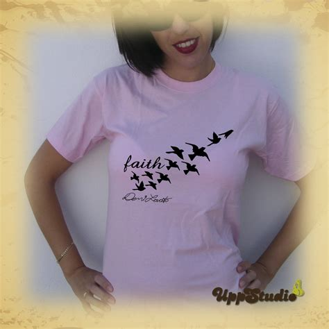 demi lovato t shirt faith tattoos birds buy cheap