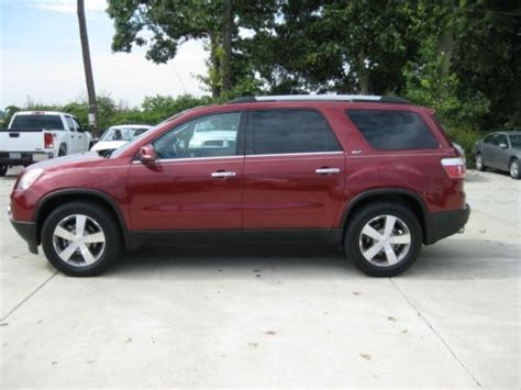 how make cars 2011 gmc acadia seat position control sell used 2011 gmc acadia fwd bucket seats leather in marion arkansas united states for us