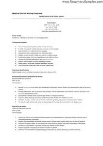 Sle Of Resume Profile by Socialworker Resume Sales Worker Lewesmr