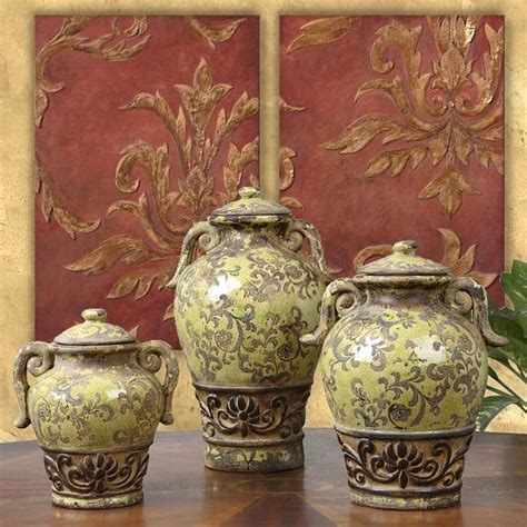 Tuscan Vases Home Decor by Tuscan Vases For Living Room Tuscan Style Decor