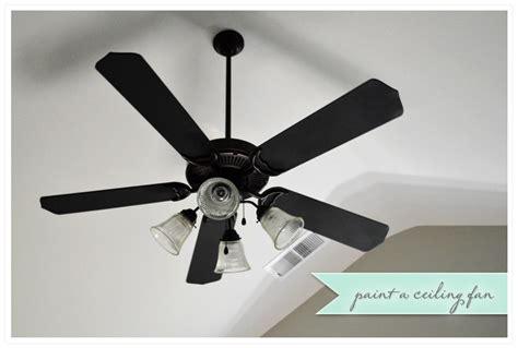 painting ceiling fan blades a 12 ceiling fan redo wild ink press