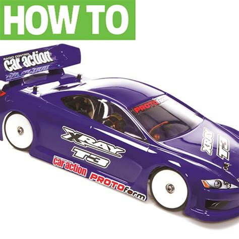 8 easy steps for paint rc car