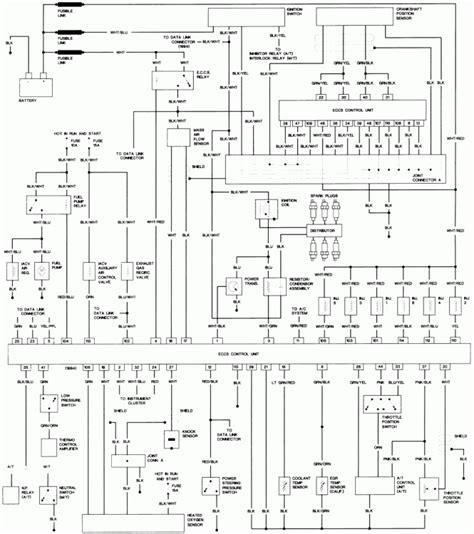 nissan sentra alternator wiring diagram