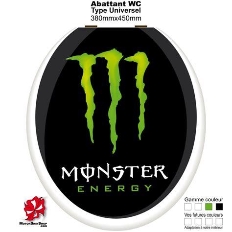 Monster Energy Sticker Shop by Sticker Abattant Wc Monster Energy