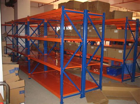 Commercial Pallet Racking by Logistic Central Medium Duty Steel Shelves Selective