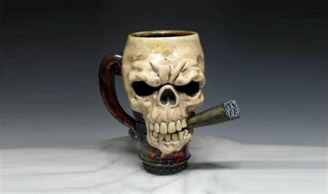 Crazy Cool Mugs coolest 53 skull coffee mugs you ll find around number
