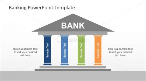 powerpoint themes roof bank establishment powerpoint template slidemodel