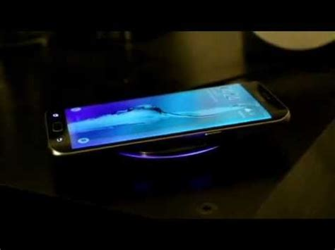 sunbeam pad flashing red light wireless charger and galaxy s6 edge plus charging
