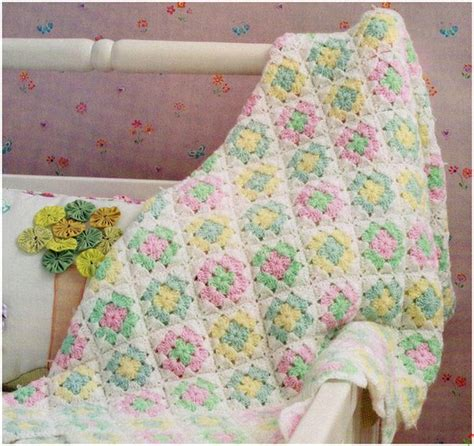 Free Square Baby Blanket Pattern by Square Baby Blanket Crochet Pattern Archives