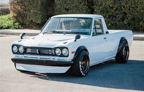 nissan hakotora award winning 1974 datsun quot hakotora quot truck is