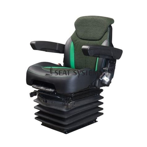 air ride tractor seat agromact lx deluxe low frequency air suspension seat