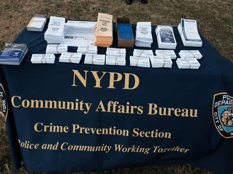 Nypd Crime Prevention