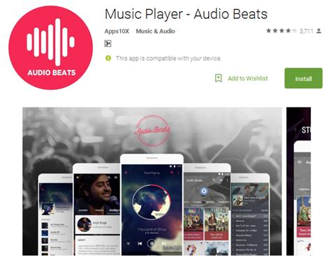 best beat app for android top 12 free player apps for android 3d mp3 players andy tips