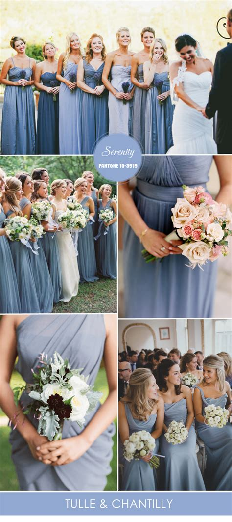 top 10 pantone colors for spring summer bridesmaid dresses