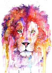 best 25 watercolor lion ideas on pinterest lion art