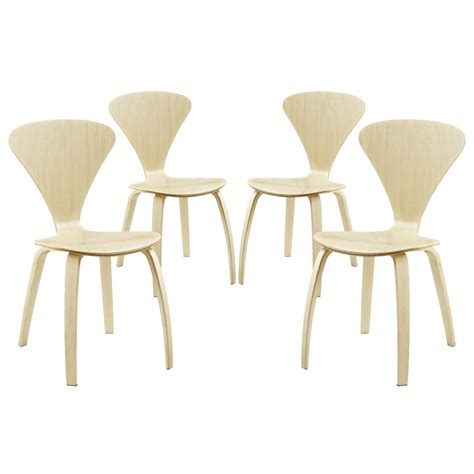 Vortex Modern Stackable Wood Dining Chairs With V Shaped Modern Stackable Dining Chairs