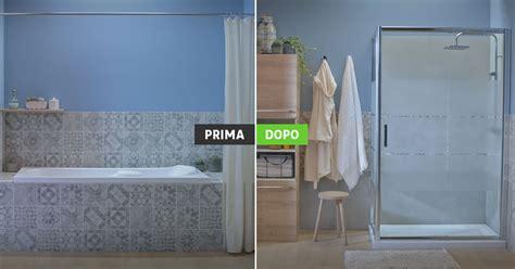 trasformare doccia in vasca da bagno simple doccia al posto della vasca with doccia al posto
