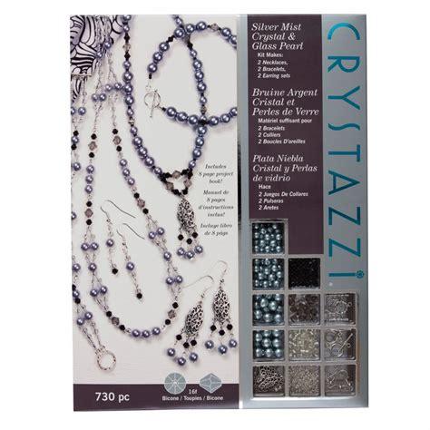 jewelry kits uk crystazzi 730pc jewellery kit silver mist