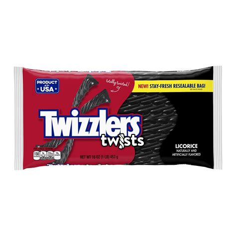 twizzlers chocolate twists 12 ounce bags