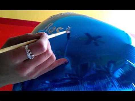 poner imagenes latex tutorial como poner diamantina en globos youtube