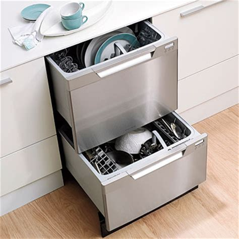 kitchen design ideas two drawer dishwasher or just