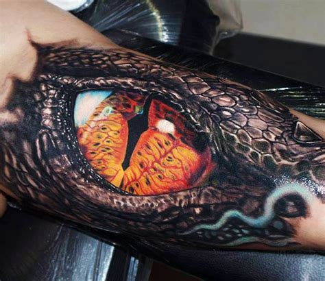 smaug eye tattoo by jurgis mikalauskas post 13353