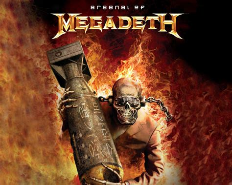 unstoppable arsenal metal books wallpaper wallpaper megadeth
