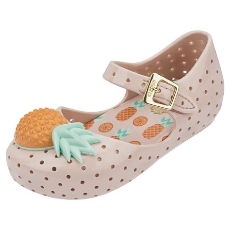 pineapple shoes mini mini furadinha 15 pineapple corsage shoe in blush