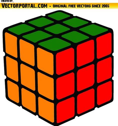 clipart vettoriali cubo coloful risolto clip vettoriali scaricare