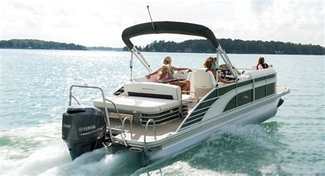 Pontoon Floor Plans by 2017 G22 Swingback Pontoon Boats By Bennington