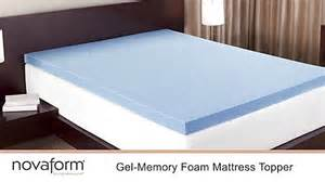 novaform 174 3 quot gel memory foam mattress topper 187 welcome to costco wholesale