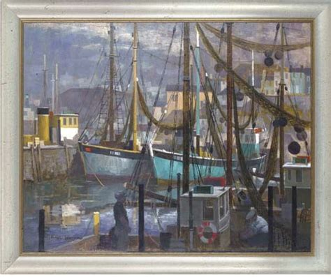 fishing boats for sale brixham michael lawrence cadman artwork for sale at online auction