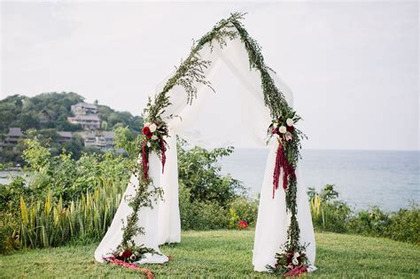 When Is The Wedding by Bohemian Chic Sayulita Wedding Annika Xavi Green