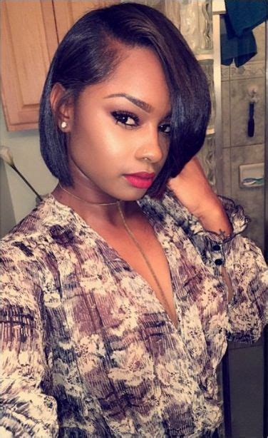 african american hairstyles with parts bob haircuts for african american women hair pinterest