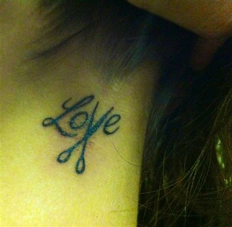 love tattoo with scissors my new tattoo perfect for a hair stylist smiles