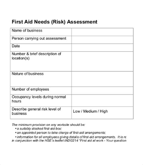 sle needs assessment 9 free word pdf documents